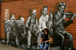 old band mural 2